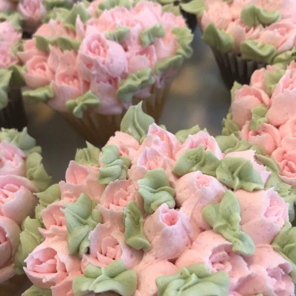 Flower Tulip Cupcakes